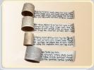 4 פרשיות לתפילין של ראש
